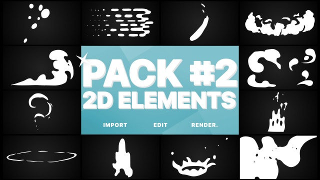 Photo of Elements Pack 02 – MotionArray 990703