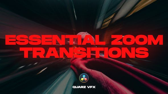 Photo of Essential Zoom Transitions for DaVinci Resolve – Videohive 33186350