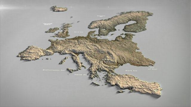 Photo of Europe Map – MotionArray 994991