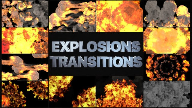 Photo of Explosion Transitions – MotionArray 975655