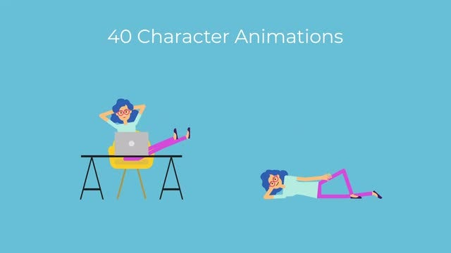 Photo of Female Character Animations – MotionArray 989542