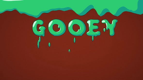 Photo of Flat Gooey Letters – Videohive 22708864