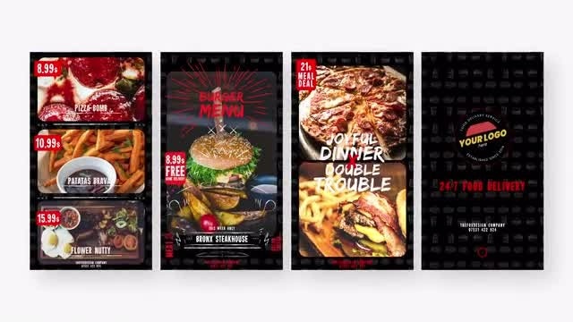 Photo of Food Delivery Story Promo – MotionArray 974271