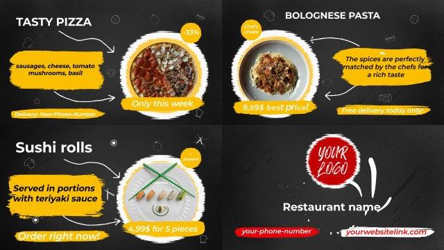 Photo of Food Menu Slideshow – MotionArray 995699
