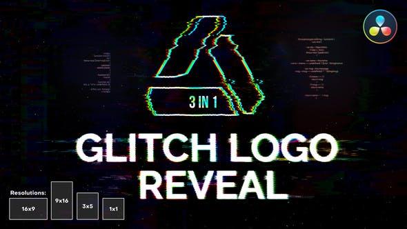 Photo of Glitch Logo Reveal | For DaVinci Resolve – Videohive 33123132
