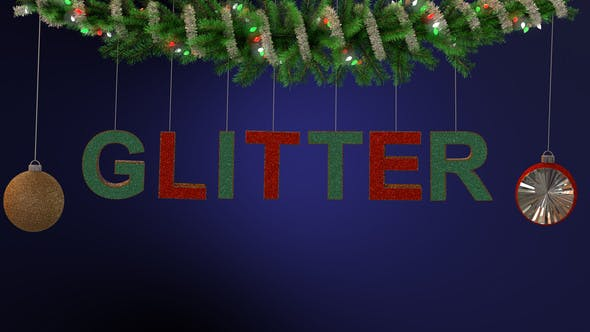 Photo of Glitter Ornament Typeface – Videohive 22944719