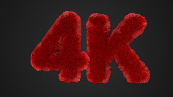 Photo of Hairy Text – Videohive 11241766