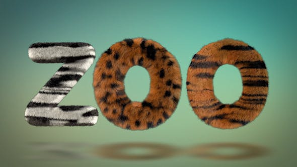 Photo of Hairy Zoo Text – Videohive 16720729