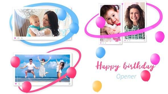 Photo of Happy Birthday Opener – Videohive 33119692