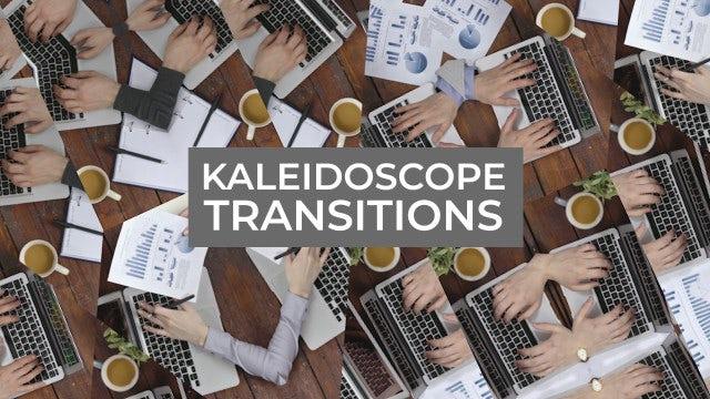 Photo of Kaleidoscope Transitions – MotionArray 972377