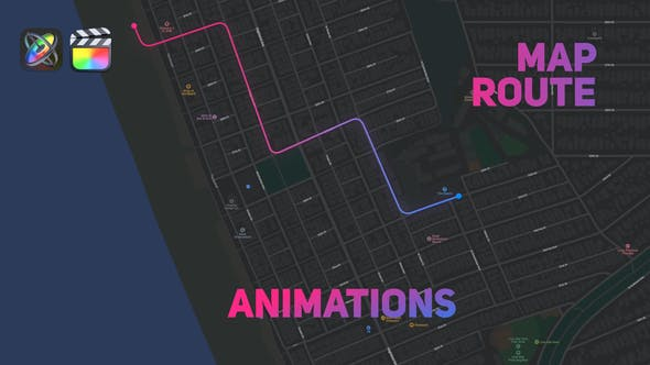 Photo of Map Route Animations – Videohive 33087877