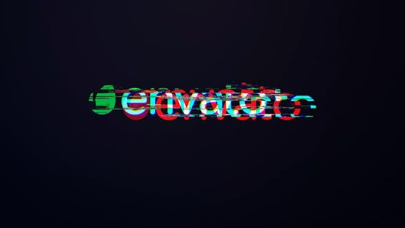 Photo of Minimal Glitch Logo Mogrt – Videohive 33140162