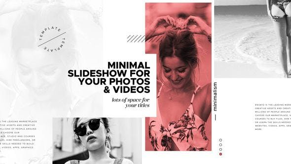 Photo of Accent / Minimal Slideshow – Videohive 22019954