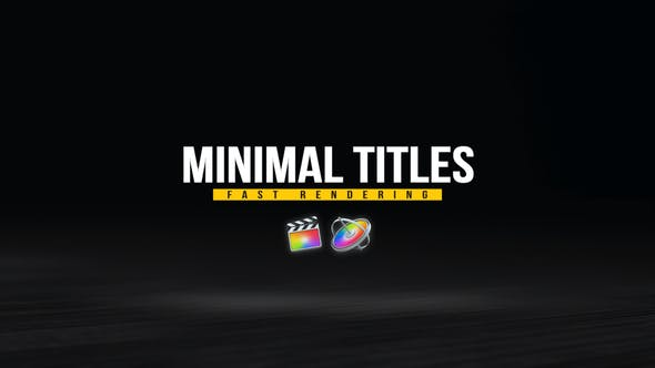 Photo of Minimal Titles Pack – Videohive 33124856