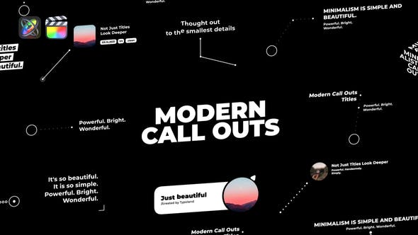 Photo of Modern Call Outs – Videohive 33120679