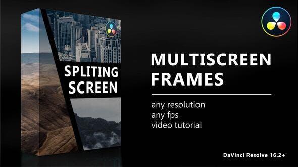 Photo of Multiscreen Frames for DaVinci Resolve – Videohive 33139265