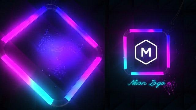 Photo of Neon Logo Reveal – MotionArray 998411