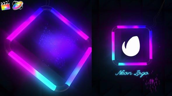 Photo of Neon Logo Reveal – Videohive 33204283