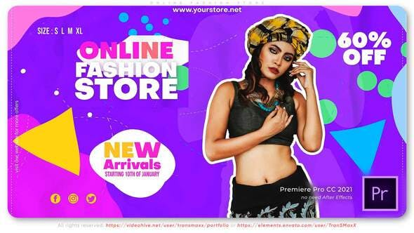 Photo of Online Fashion Store – Videohive 33211906