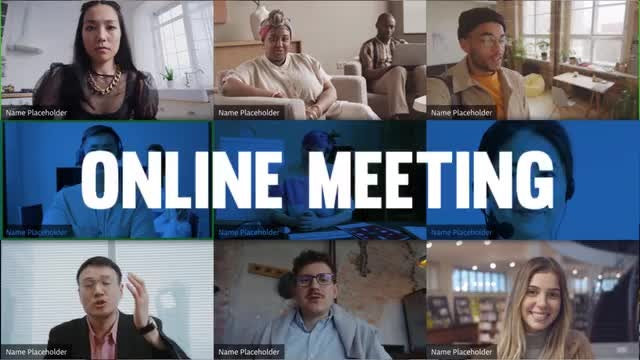 Photo of Online Video Meeting Promo – MotionArray 991353