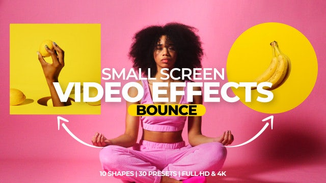 Photo of Small Screen Video Effects – Bounce – MotionArray 988700