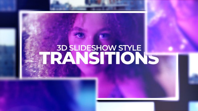 Photo of 3D Slideshow Style Transitions – MotionArray 996029