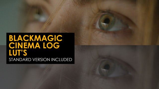 Photo of Blackmagic Cinema Log And Standard Luts – MotionArray 996487