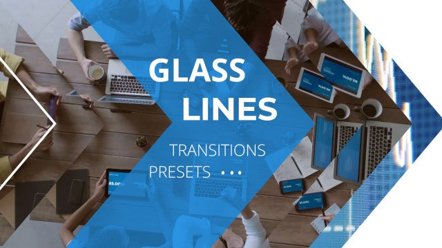 Photo of Glass Lines Transitions Presets – MotionArray 996550