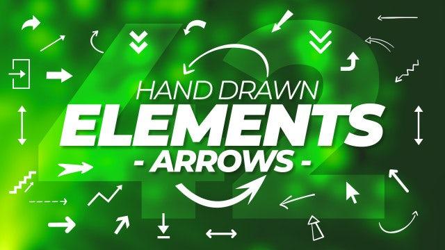 Photo of Hand Drawn Elements Kit V2 – Arrows – MotionArray 997188