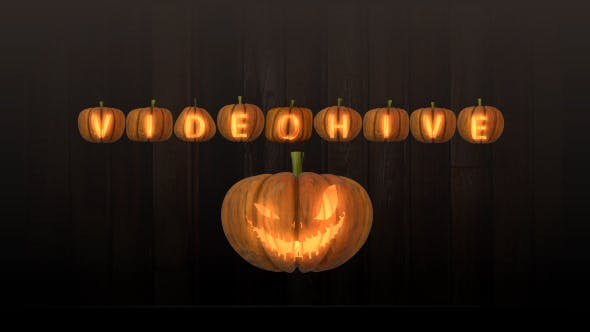 Photo of Pumpkin Letters Pack – Videohive 20740602