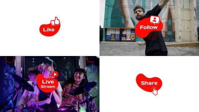 Photo of Social Media Icons & Transitions – MotionArray 989294