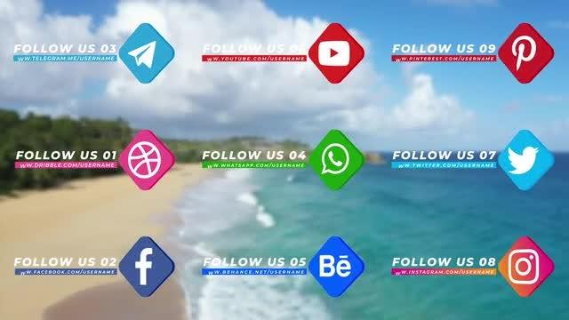 Photo of Social Media Pack Version 002 – MotionArray 975034