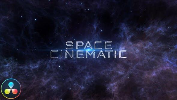 Photo of Space Cinematic Titles – DaVinci Resolve – Videohive 33197483