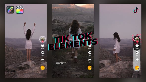 Photo of TikTok Elements – Videohive 33123735
