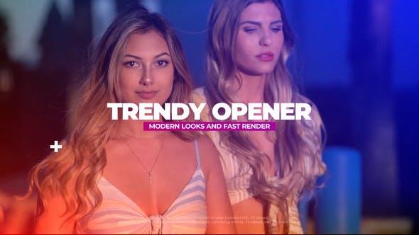 Photo of Trendy Opener – Videohive 32259914