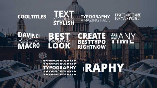Photo of Typo Pack – MotionArray 990480