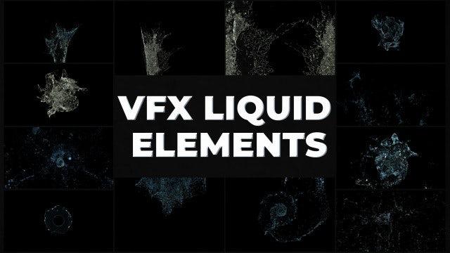 Photo of VFX Liquid Pack – MotionArray 969972