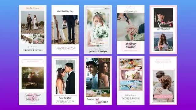 Photo of Wedding Instagram Stories – MotionArray 999146