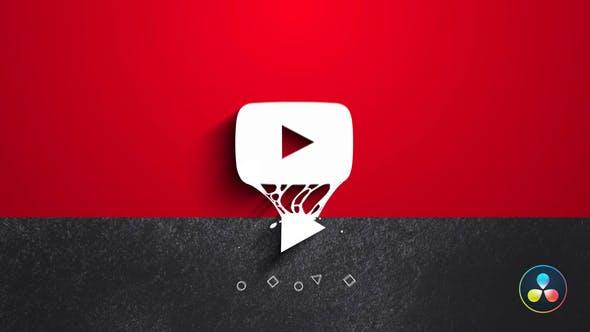 Photo of Youtube Minimal Liquid Logo – Videohive 33222396