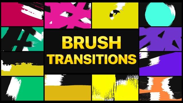 Photo of Brush Transitions – MotionArray 993517
