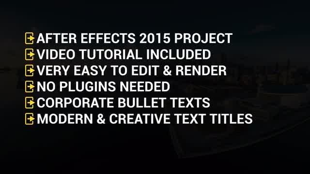 Photo of Creative Corporate Bullet Texts – MotionArray 992353