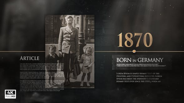 Photo of History Memories Pack – Videohive 32523386