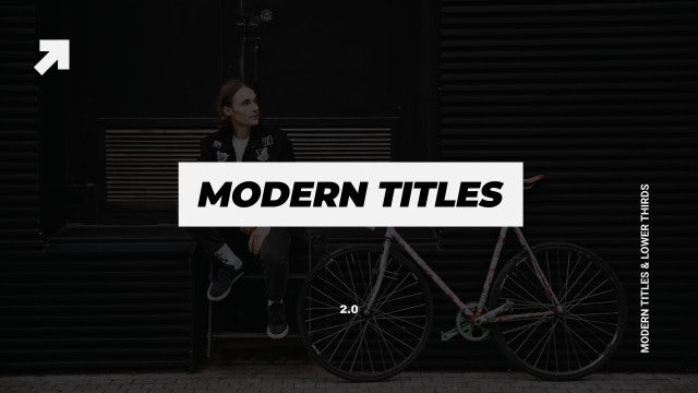 Photo of Modern Titles & Lower Thirds – MotionArray 974514