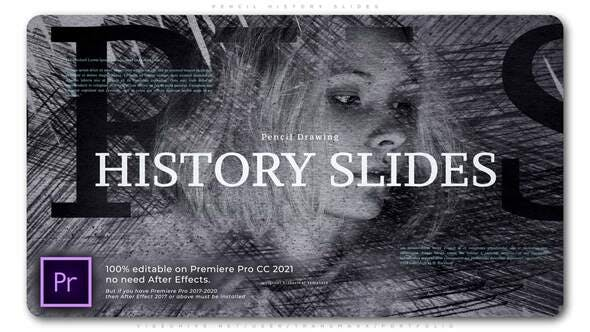 Photo of Pencil History Slides – Videohive 33869457