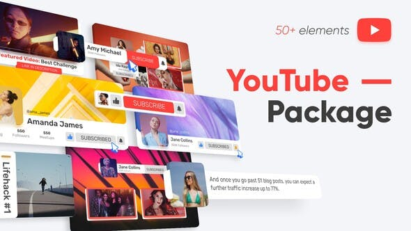 Photo of YouTube Package – Videohive 33137931