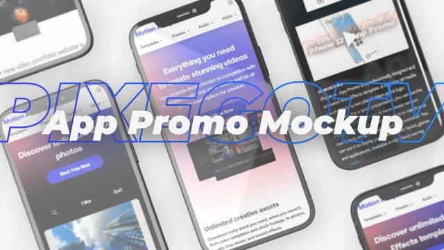 Photo of App Promo Mockup – Phone 12 Presentation – MotionArray 1040315