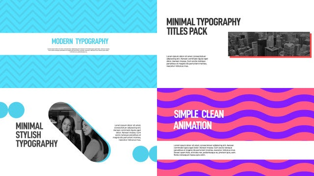 Photo of Clean Minimal Typography – MotionArray 1035243