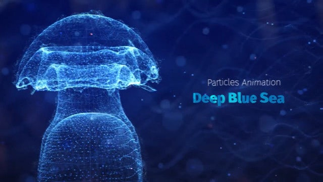 Photo of Deep Blue Sea Titles – MotionArray 1018261