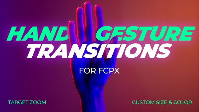 Photo of Hand Gesture Transitions FCPX – MotionArray 1052754