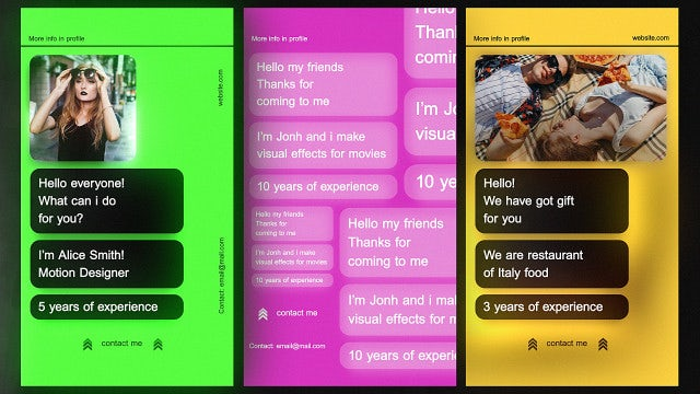 Photo of Message Typography Stories – MotionArray 1017532